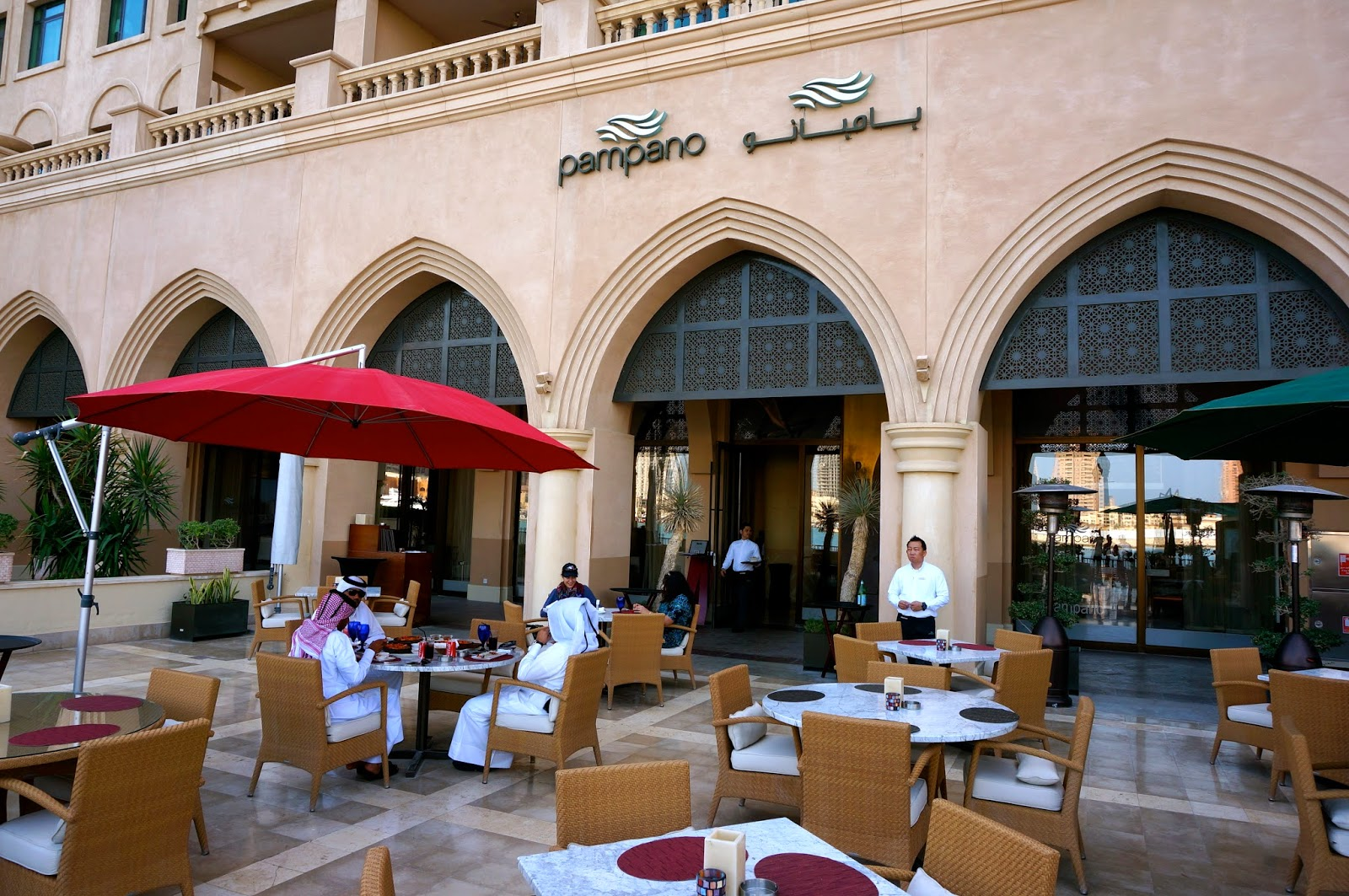 Dining at The Pearl: Pampano