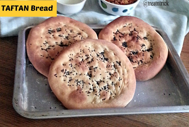 Taftan Bread Recipe @ treatntrick.blogspot.com