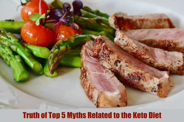 Truth of Top 5 Myths Related to the Keto Diet
