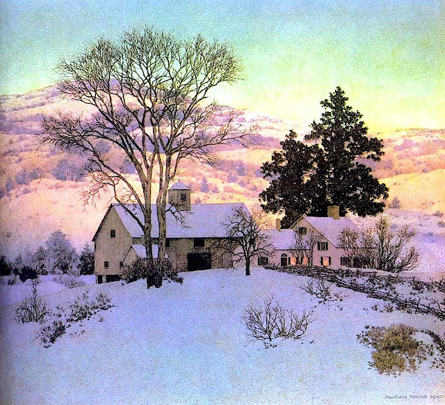 Maxfield Parrish art large