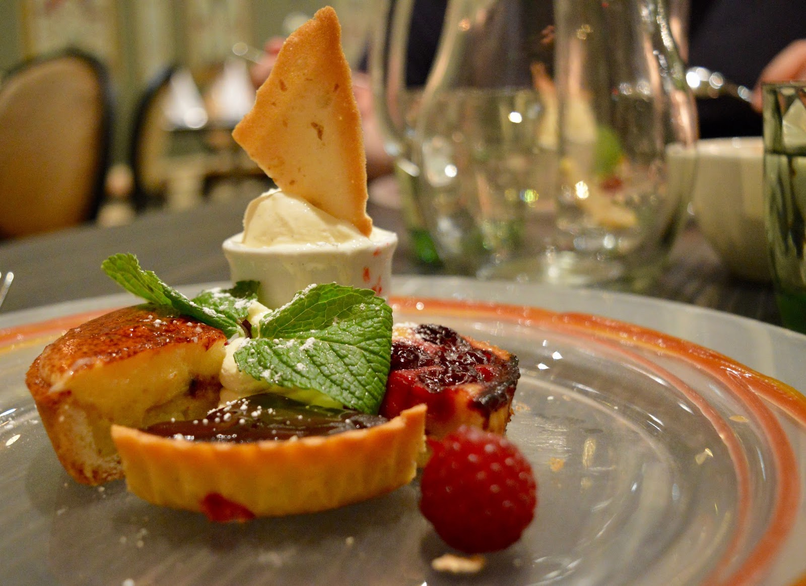 The Brasserie at the Grand Hotel, Tynemouth | New Tasting Menu review  - dessert platter