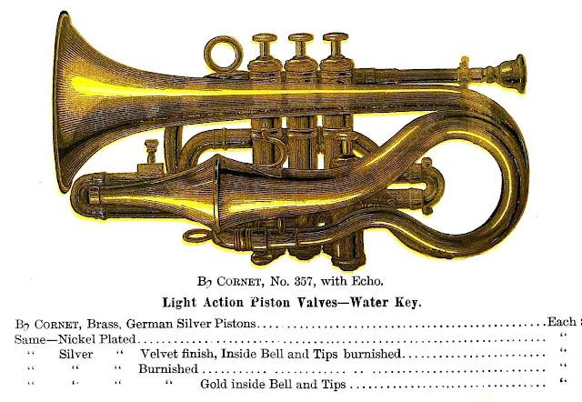 1890 cornet horn