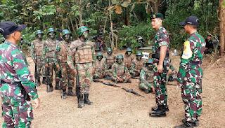 Latihan Pembentukan Pasukan Raider