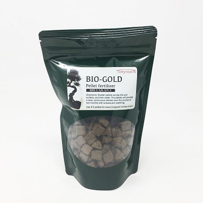 Tinyroots organic bonsai pellet fertilizer imported from Japan