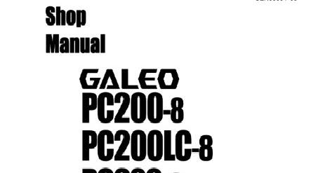 HARTONO EXCA: SK200-8 & PC200-8