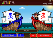 http://www.eslgamesplus.com/body-parts-esl-vocabulary-game-sea-battle-volley-game/