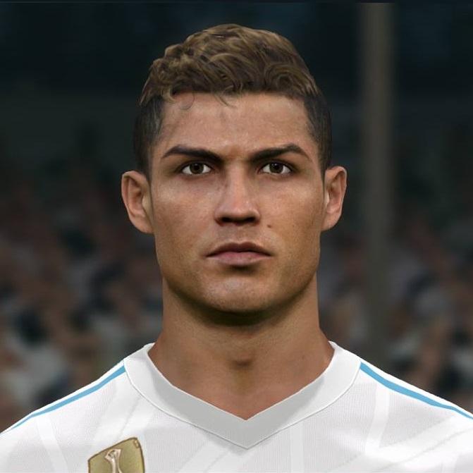 Cristiano Ronaldo Fifa 15 Face