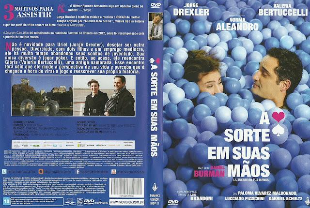 Capa DVD A Sorte em Suas Mãos
