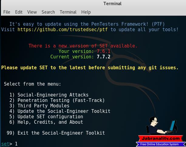 hacking facebook kali linux