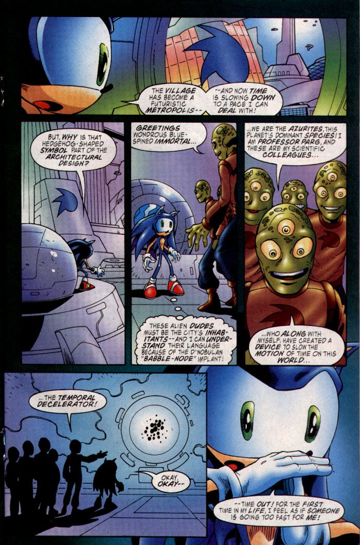 Read online Sonic The Hedgehog comic -  Issue #127 - 15