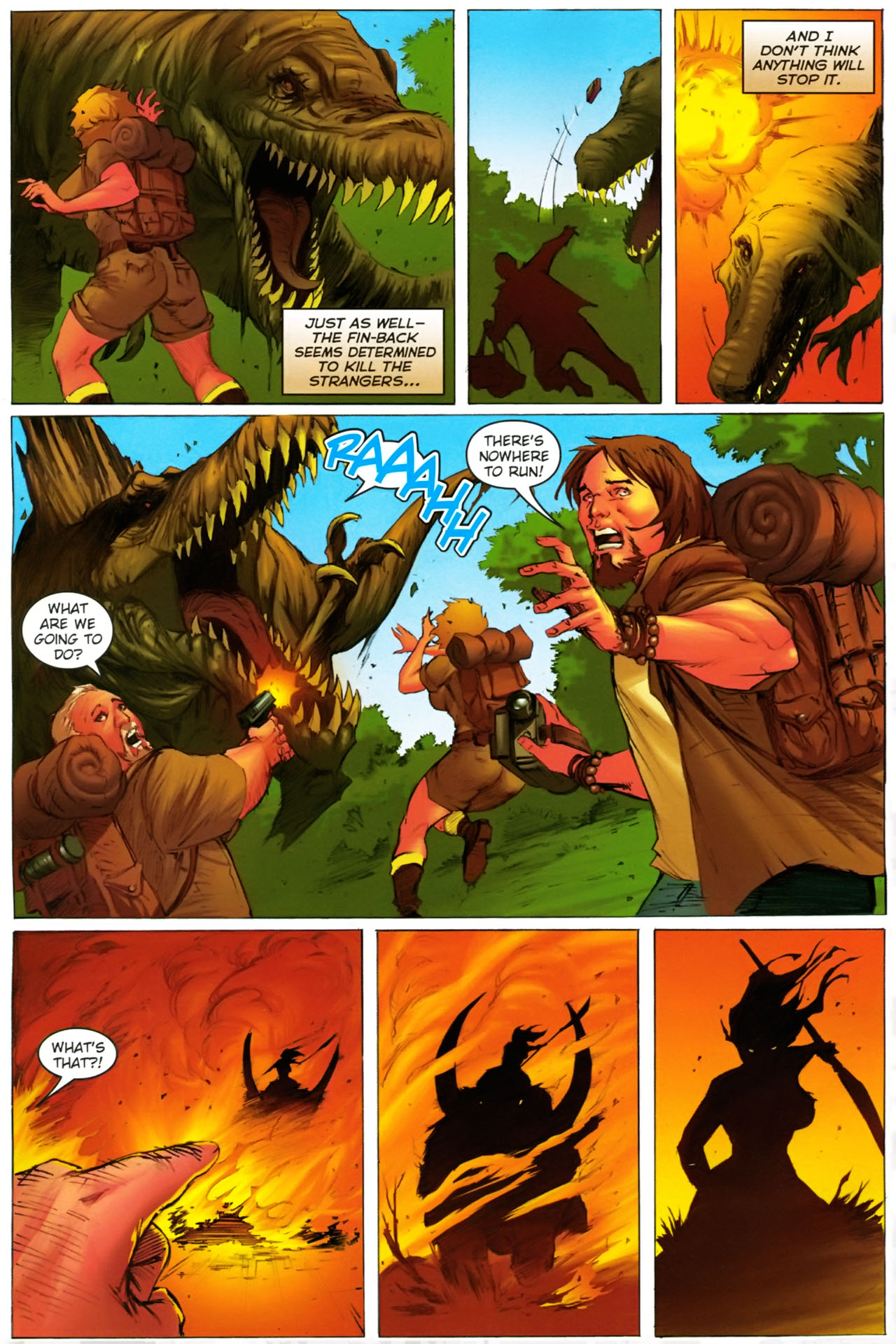 Read online Jungle Girl comic -  Issue #2 - 17