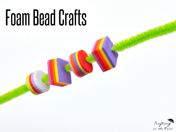 Fun with Foam Beads