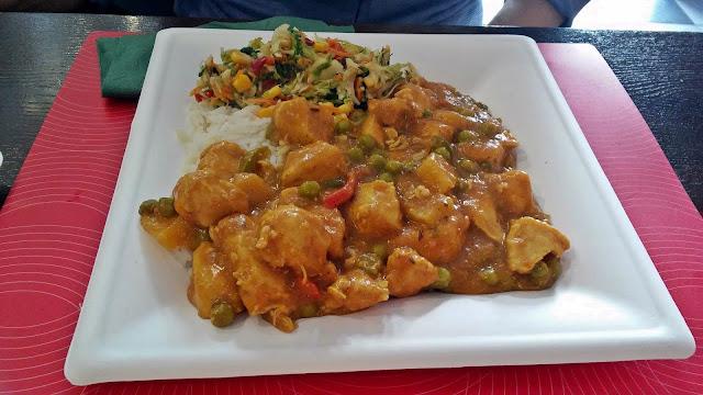 Kurczak w curry Knajpka na fyrtlu