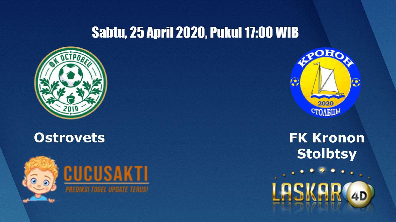 Prediksi Bola Ostrovets vs Kronon Stolbtsy Sabtu, 25 April 2020