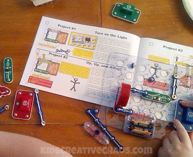 Elementary and Middle School Electric Circuit Science Lesson