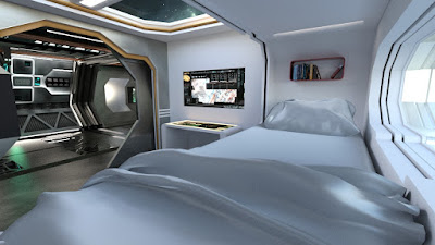 Spaceship Crew Room