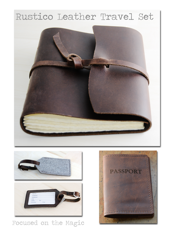 Focused on the Magic Rustico Leather Travel Set Review