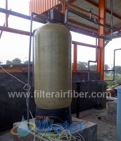 harga frp sand carbon filter air industri