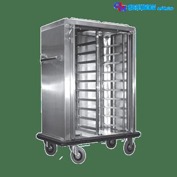 Troli Stainless Steel Kapasitas 24 Nampan