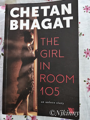 Book Review The Girl in Room 105 by Chetan Bhagat-NWoBS Blog