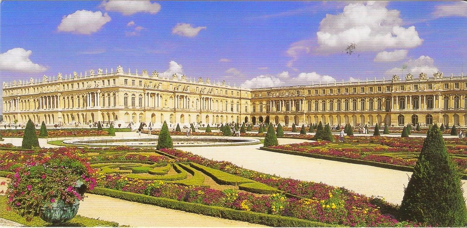 Palácio de Versailles em Paris