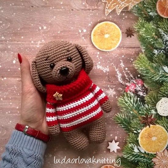 11 Amigurumi Dog Crochet Patterns – Cute Puppies - A More Crafty Life | 549x549
