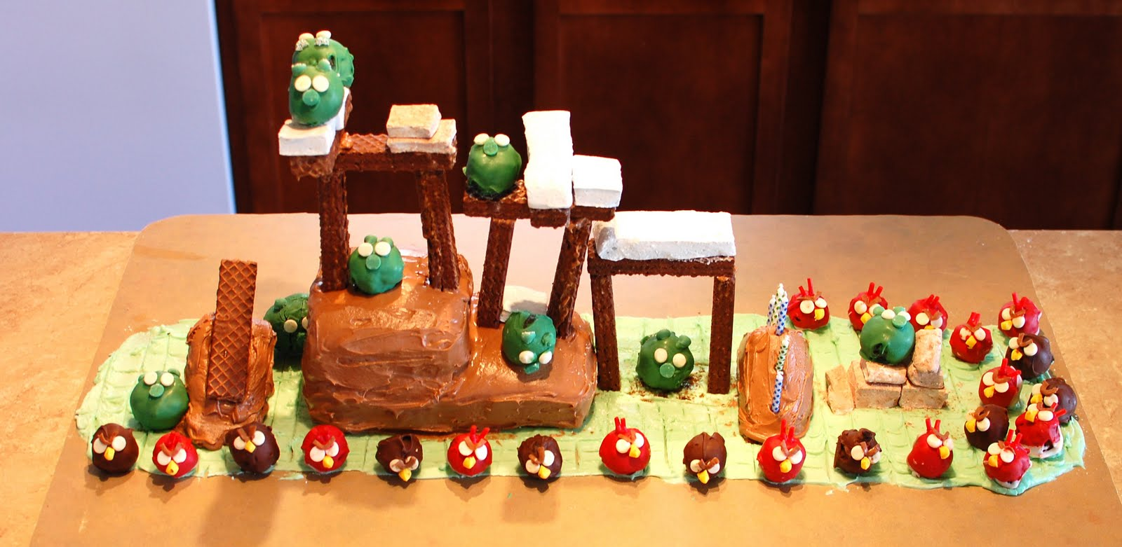The Copycat Crafter Angry Birds Birthday Party