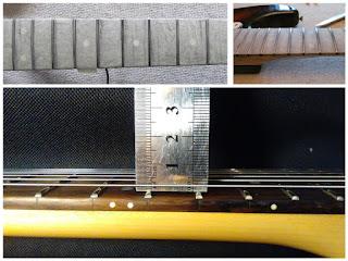 отстроенный гитарный гриф