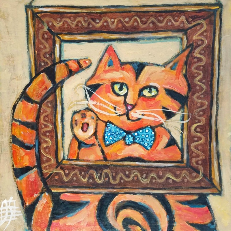 CAT #29 I've Been Framed by Joanie Springer #30cats