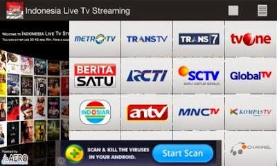 Cara Nonton TV Online di Smartphone Android