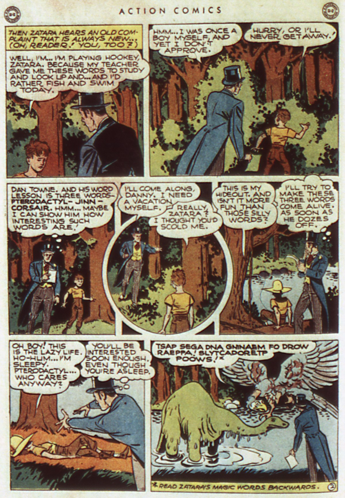 Read online Action Comics (1938) comic -  Issue #96 - 44