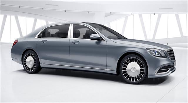 Mercedes Maybach S560 4MATIC 2019 có thiết kế từ ngoại thất và nội thất sang trọng, lịch lãm và quyến rũ