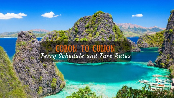 Coron to Culion Ferry Schedule