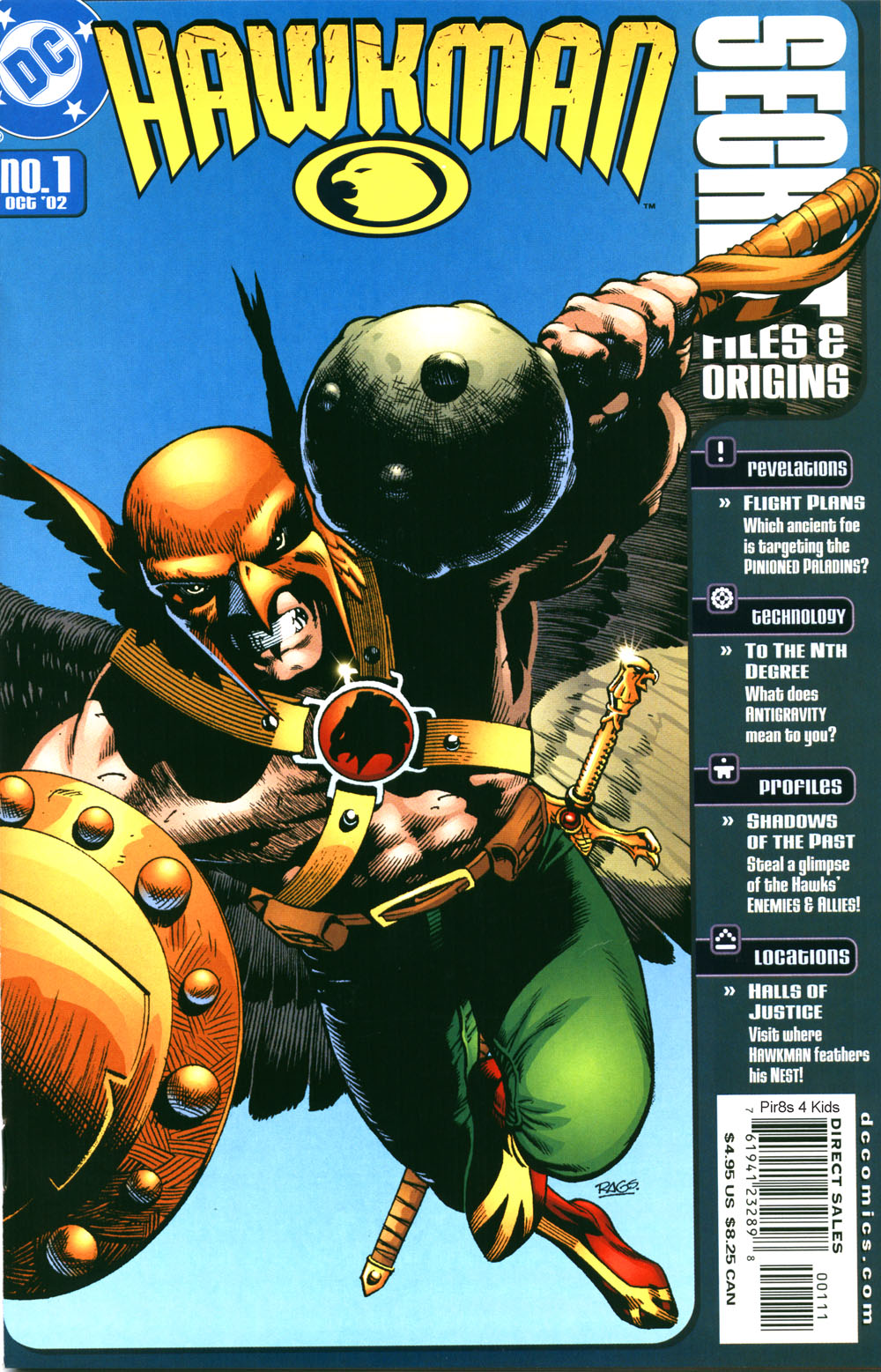 Hawkman Secret Files and Origins 1 Page 1