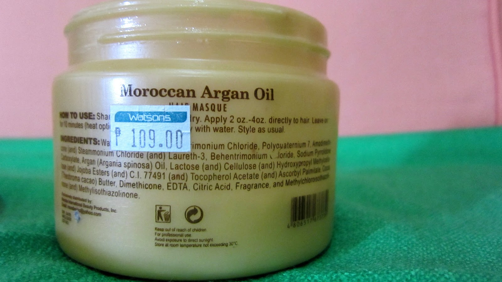Argan Magic Review For Natural Hair
