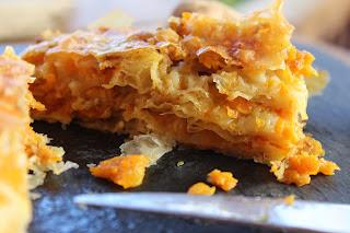 pastel De Masa Filo Con Calabaza