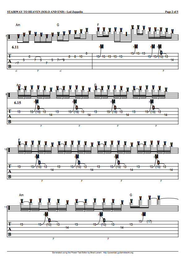guitar tabs guitar tabs and song sheets for stairway to heaven. Black Bedroom Furniture Sets. Home Design Ideas