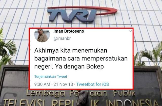 Jadi Olok-olokan Netizen! Dirut TVRI Gelar Survei Acara TVRI, Warganet: 'Liga Bokep' Pak Dirut Mesum