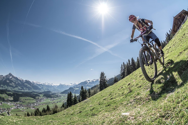 mtb kirchberg in tirol rauher kopf trail bike mountainbike
