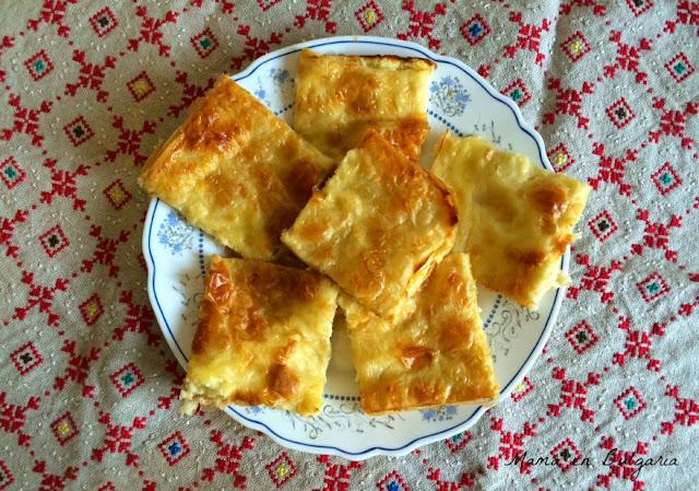 Banitsa búlgara receta