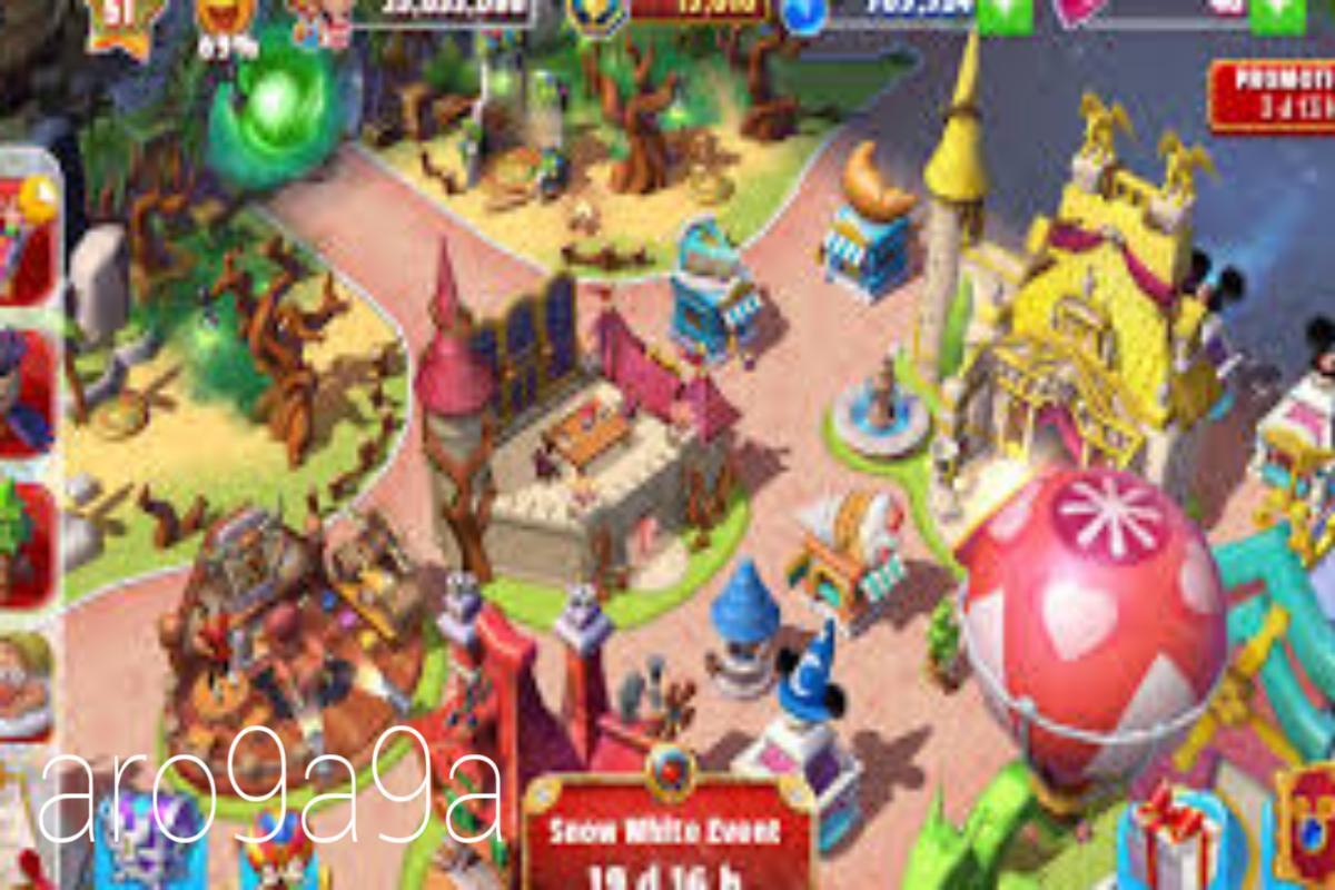 تحميل لعبة disney magic kingdoms مهكرة اخر اصدار