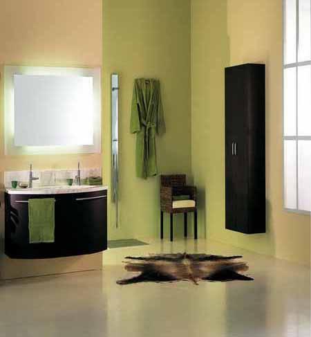 desain warna kamar mandi yang bagus modern minimalis