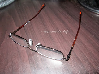 My first ever reading glasses