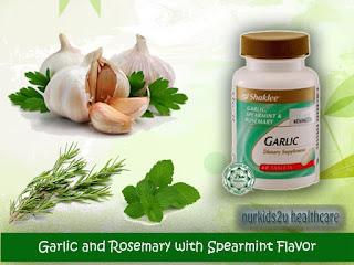 Garlic Complex Shaklee bantu atasi masalah keputihan ketika hamil