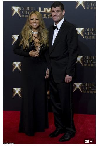 Mariah Carey recibe collar de diamantes 500 mil dolares