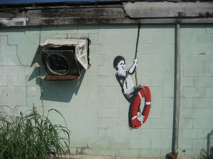 Wajah Asli Banksy