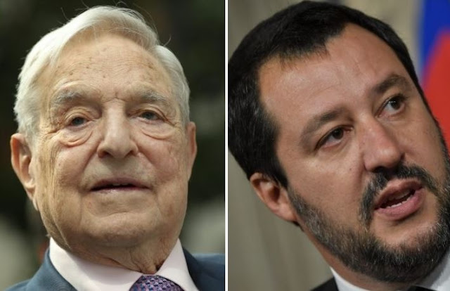 Soros against the Italian Government: Is paid from Putin, Salvini reacts: Speculator!
