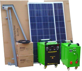 mobil solar bağ evi paketi