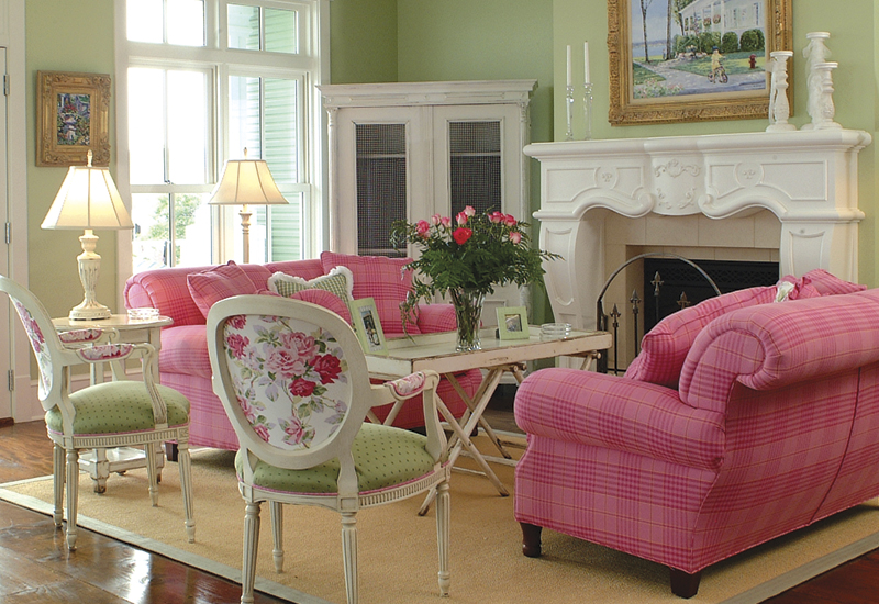 pink and green living room the of a suburban princess pink amp green thursday 21847