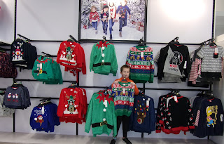 brightly coloured christmas jumpers tesco
